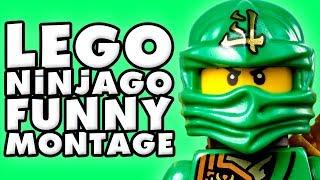 The LEGO Ninjago Movie Videogame Funny Montage!