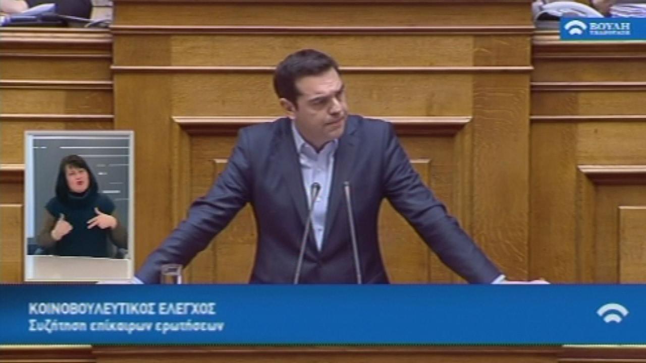 Απάντηση του πρωθυπουργού σε ερώτηση του Στ. Θεοδωράκη, για τη διαφθορά
