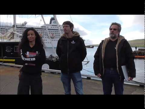 Sea Shepherd USA's Campaign Director Scott West — Operation GrindStop 2014 Launch Press Conference