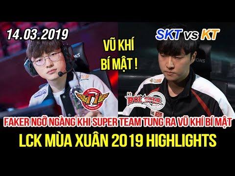 [LCK 2019] SKT vs KT Game 1 Highlights | Faker bất ngờ đối mặt vũ khí bí mật KT trong Telecom War - Thời lượng: 11 phút.