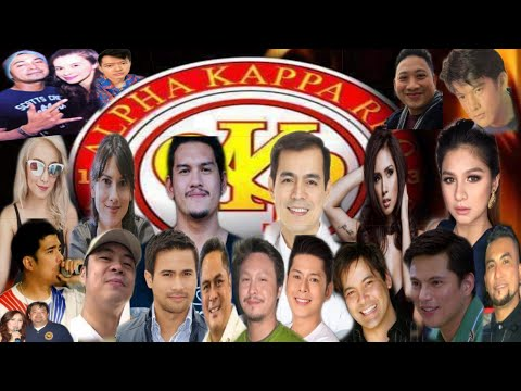 Alpha Kappa Rho Biggest Name in PH Celebrities Politician, Musician, Sports and there Chapter Akrho