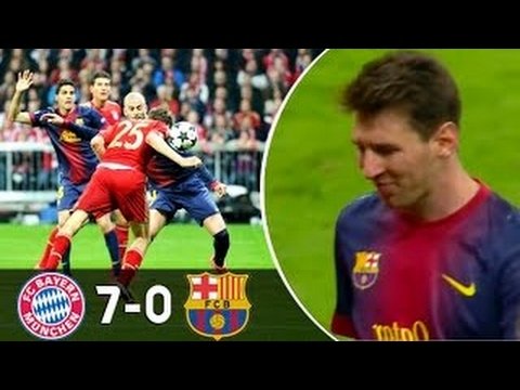 Top 7 Most Humiliating Defeats In Champions League Great Teams Embarrass Each Other