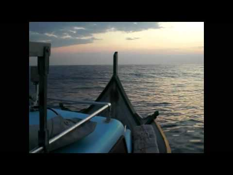 Fishing southeast Malta, around the yellowfin tuna farms (1 of 2)