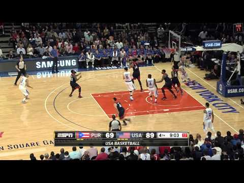 Puerto Rico - Check out Stephen Curry as he lead Team USA in scoring in a win vs Puerto Rico About USA Basketball Based in Colorado Springs, Colo., USA Basketball is a nonprofit organization and the national...