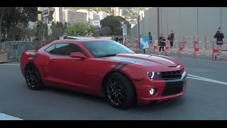 Video Best Chevrolet Camaro sounds ever in Monaco ! MP3, 3GP, MP4, WEBM, AVI, FLV Mei 2017