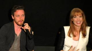 Nonton James Mcavoy   Jessica Chastain The Disappearance Of Eleanor Rigby Q A In Nyc  Part 4 Film Subtitle Indonesia Streaming Movie Download