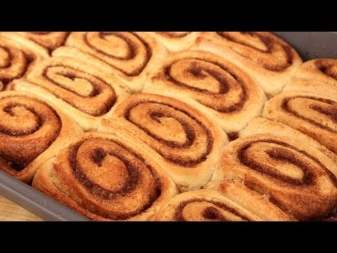 Homemade Cinnamon Rolls Recipe – Laura Vitale – Laura in the Kitchen Episode 300