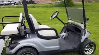 1. Yamaha Drive Gas Golf Cart For Sale FULLY CUSTOM