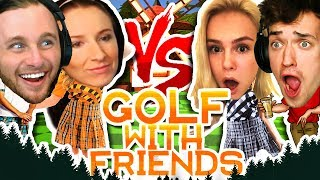 GOLF WITH FRIENDS! | COUPLES CHALLENGE!!