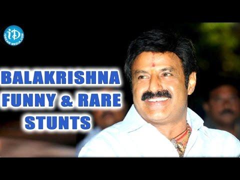 Balakrishna Unseen Funny Rare Stunts