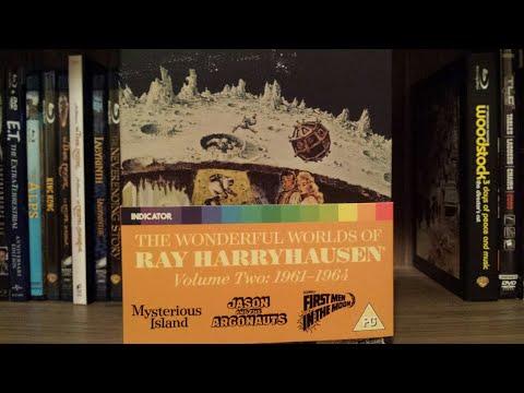 The Wonderful Worlds Of Ray Harryhausen Vol 2 boxset Review