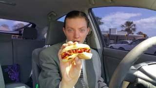 Video Sonic Cheesy Bacon Lil' Doggie - Food Review MP3, 3GP, MP4, WEBM, AVI, FLV Juni 2018