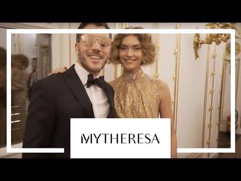 Aquazzura x Mytheresa: Woman in Gold видео