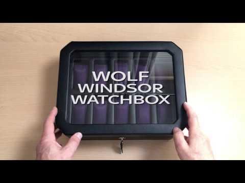 Wolf Windsor Watchbox - Massdrop Purchase