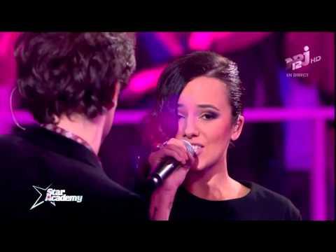 Alizée Ft. Sidoine - J'en Ai Marre @ Star Academy 2013 (видео)