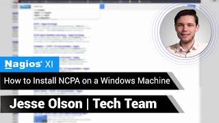 Installing NCPA on a Windows Machine