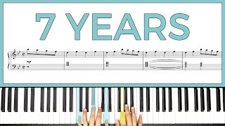 Download Lagu How to play '7 YEARS' by Lukas Graham -- Playground Sessions Mp3
