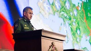 Доклад Министра обороны РФ на расширенном заседании Коллегии Минобороны России