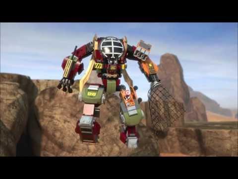Конструктор BELA «Робот-спасатель» 10525 (Аналог LEGO 70592), 454 детали
