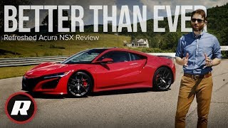 Refreshed Acura NSX Review: Earning our respect by Roadshow