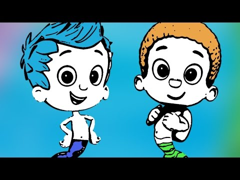 Bubble Guppies - Coloring Book - Full Game 2014