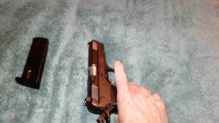 Great condition. Made around 1992. Made in Italy and hard to find. All steel rubber grips and very well made. Shoots extremly accurate and low recoil and very reliable. It is a clone of the CZ 75B with very minor differances with16 round clip. This one is like new.