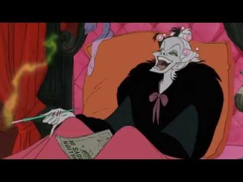 101 Dalmations Jasper and Horace call Cruella De Vil + Cruella calls Anita HD