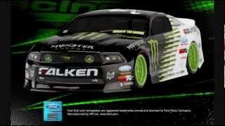 HPI Mustang GT Monster Energy RC Drift Car