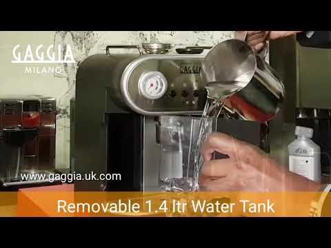 Gaggia Carezza Deluxe Coffee Machine