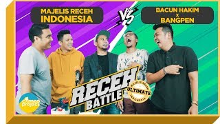 Video RECEH BATTLE - MAJELIS RECEH INDONESIA VS BANGPEN + BACUN HAKIM MP3, 3GP, MP4, WEBM, AVI, FLV Januari 2019