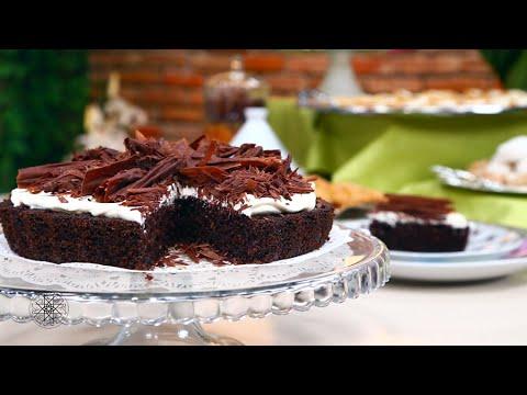 Recette Choumicha : Gâteau de semoule au chocolat