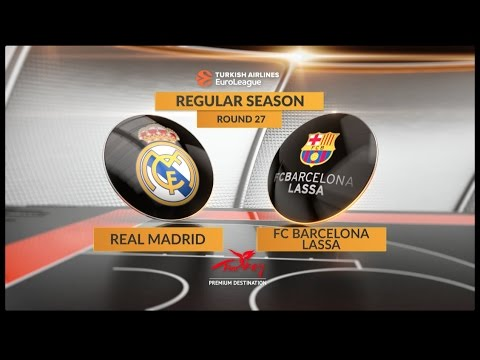 EuroLeague Highlights: Real Madrid 85-69 FC Barcelona Lassa