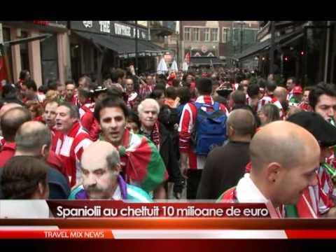Spaniolii au cheltuit 10 mil de euro