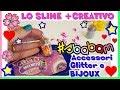 GLITTER MELMITO SLIME: giocare per ORE! Accessori e BIJOUX di SLIME Sbabam by Lara e Babou