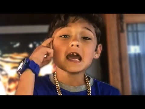 Embarrassing Kid Thinks He Can Rap...