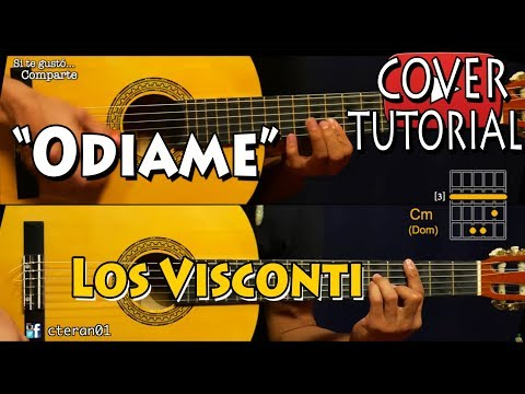 Odiame - Los Visconti Introduccion Tutorial/Cover Guitarra
