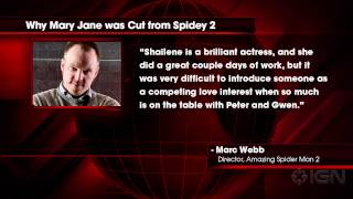 Why Shailene Woodley's Mary Jane was Cut from The Amazing Spider-Man 2 - IGN News