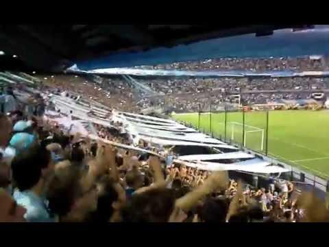 Video - Recibimiento Racing - Guaraní || Copa Libertadores - La Guardia Imperial - Racing Club - Argentina