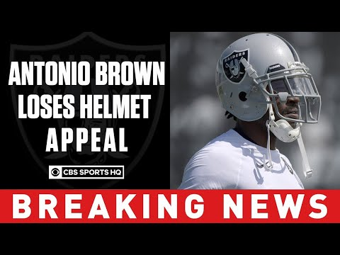 Video: Antonio Brown's Helmet Appeal Has Been Denied, But Says He Will Still Play In 2019 | CBS Sports HQ