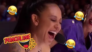 Video AUDITIONS That Will Leave You LAUGHING OUT LOUD On Britain's & America's Got Talent | Punchline MP3, 3GP, MP4, WEBM, AVI, FLV September 2019