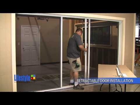 youtube retractable screen door 2