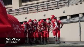 Oslo Vikings 2018 Highlight video
