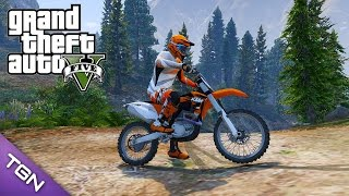 6. GTA V - 2011 KTM 450 SX-F (Download)
