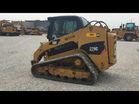 CATERPILLAR SKID STEER LOADERS 279CSTD1C equipment video Kj7H90W8ZDs