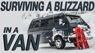 Nonton Surviving a Blizzard In a Van - Living The Van Life Film Subtitle Indonesia Streaming Movie Download