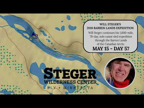 Barren Lands – Steger Solo 2018 – Day 57