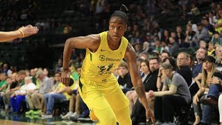 Loyd, Howard Combine For 43 PTS In Storm Win Over Sparks by WNBA
