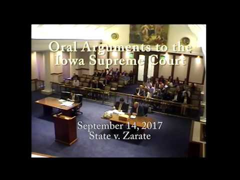 Image of 15–2203 State of Iowa v. Rene Zarate