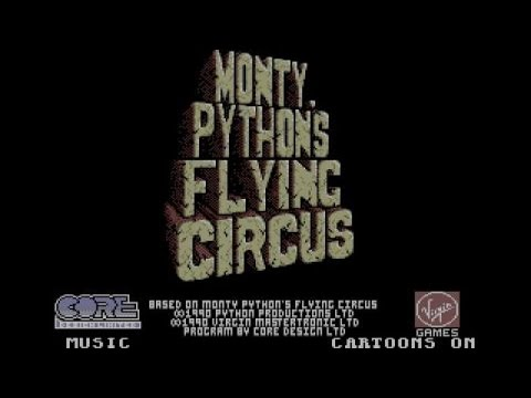 Monty Python's Flying Circus : The Computer Game Atari