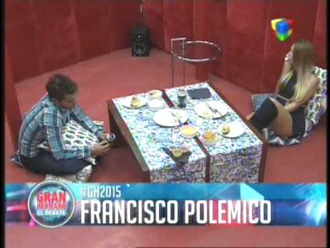 Francisco polemico con su paternidad GH 2015 #GH2015 #GranHermano